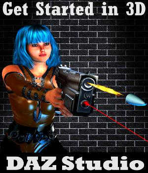 GET STARTD IN 3D with DAZ Studio 4.7