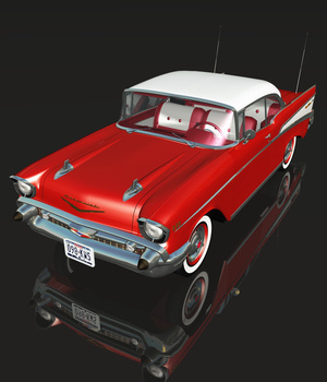 CHEVROLET BEL AIR HARD TOP 1957 (for VUE)
