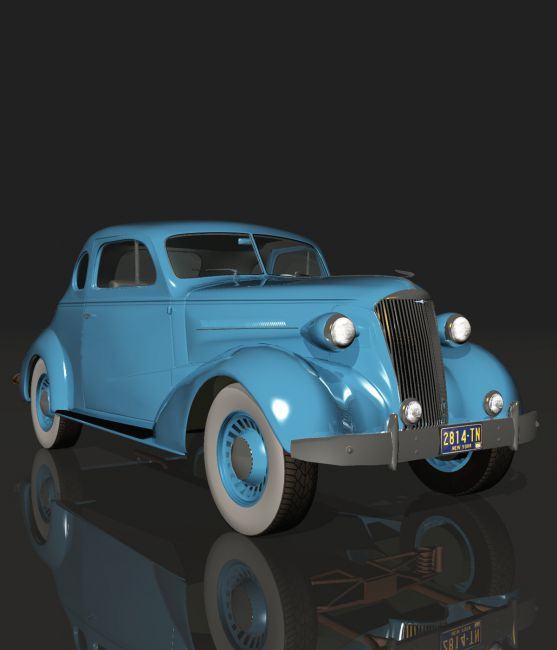 CHEVROLET 1937COUPE (for VUE)