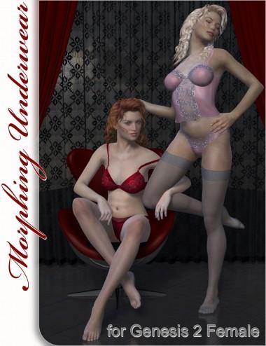 Underwear for Genesis 2 Female(s)