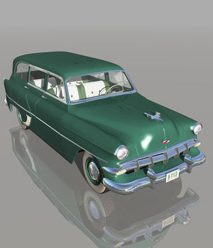 CHEVROLET 1954 STATION WAGON (for VUE)