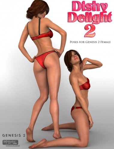 Dishy Delight Poses 2 for Genesis 2 Female(s)