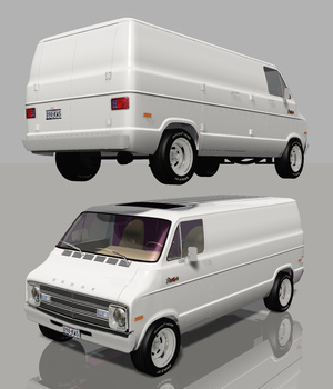DODGE STREET VAN 1976 (for VUE)