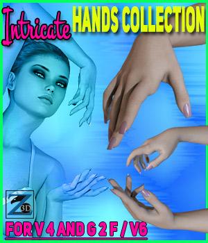 Z Intricate Hands Collection - V4/G2F/V6