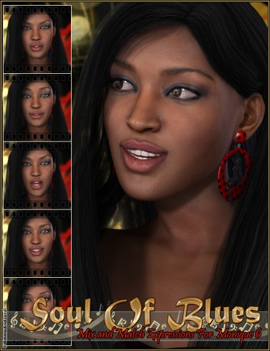 Soul Of Blues Mix and Match Expressions for Monique 6