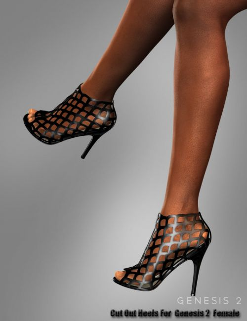 Cut Out Heels for Genesis 2 Female(s)