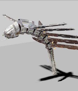 MS15 Alien Drone