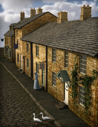 Build a Street: English Country Village