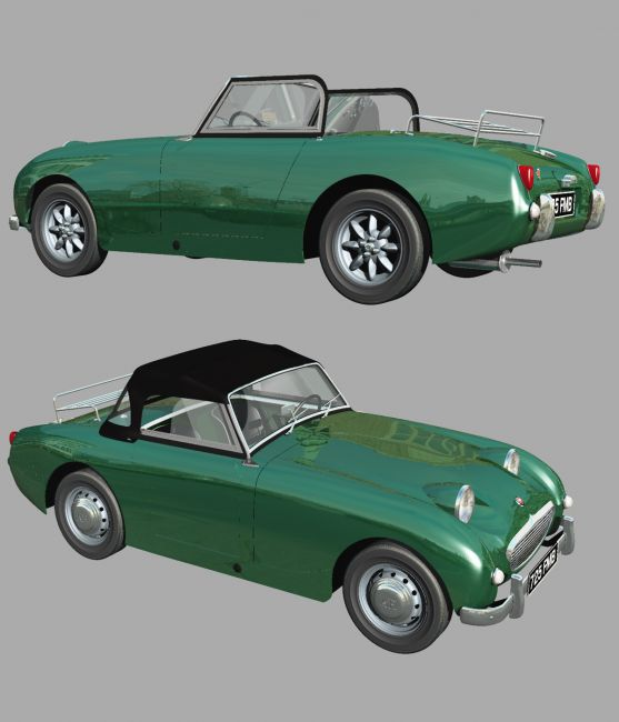 AUSTIN HEALEY FROGEYE (for VUE)