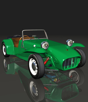 LOTUS SEVEN 1961 (for VUE)