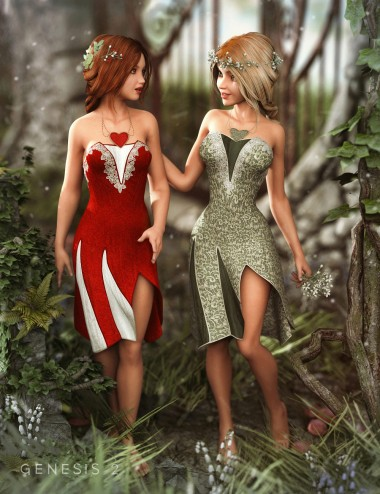 Woodland Dancer Outfit Textures