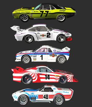 1970-1982 RACE CARS BUNDLE (for VUE)