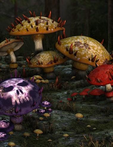 Muelsfell Vile Mushrooms