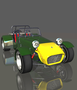 CATERHAM 7 1980 (for VUE)