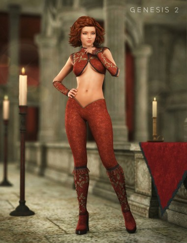 La Matadora Outfit for Genesis 2 Female(s)