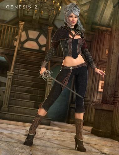 Sword Dancer for Genesis 2 Female(s)