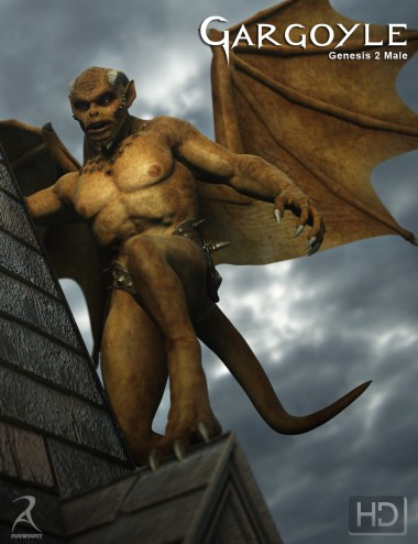 Gargoyle HD for Genesis 2 Male(s)