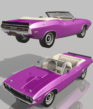 DODGE CHALLENGER CONVERTIBLE 1970 (for VUE)