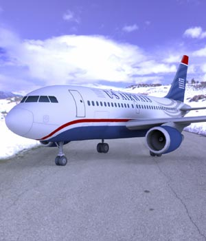 Airbus A-318 (3ds/ obj)