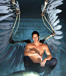 Wings of Despair for DAZ Studio