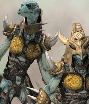 S1M: Reptilez Warrior