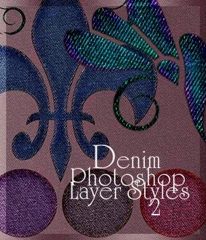Denim Photoshop Layer Styles 2