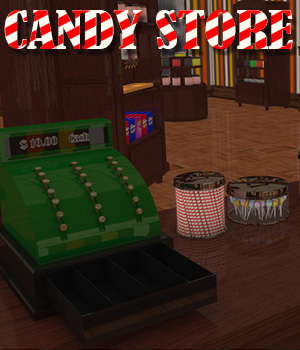 Candy Store Interior