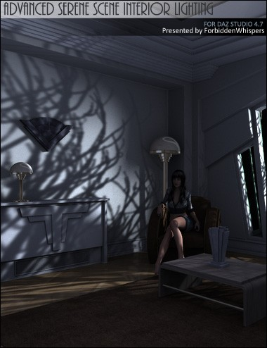 Advanced Serene Scene Interior Lighting