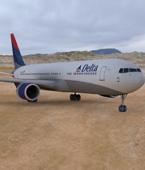 Boeing 767-300 (3ds/ obj)