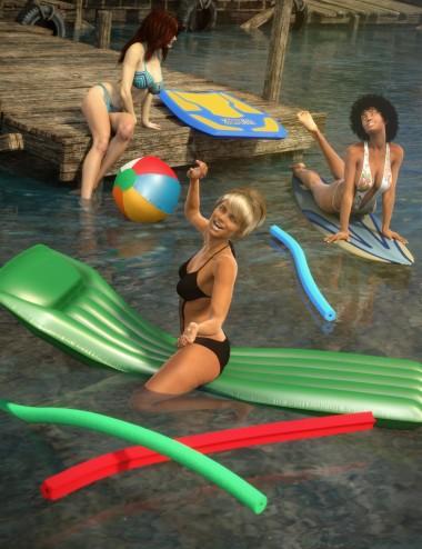 Beach and Pool Fun