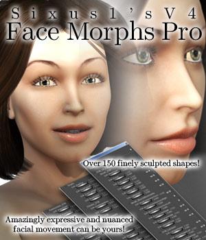 S1M: V4 Face Morphs Pro for Poser