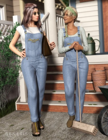 Casual Wear Overall for Genesis 2 Female(s)