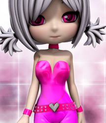 Pink LUV: Idol Suit for Cookie