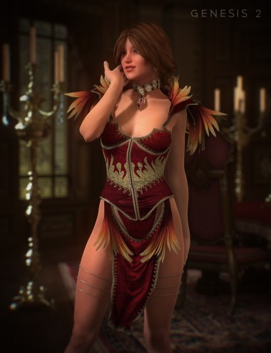 Feathered Phoenix for Genesis 2 Female(s)