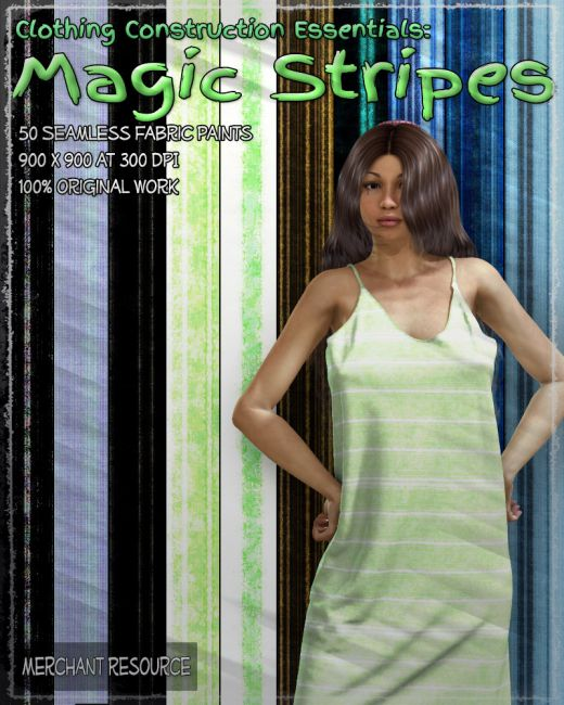 Clothing Construction Essentials: Magic Stripes