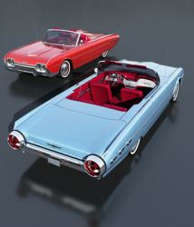 FORD THUNDERBIRD SPORTS ROADSTER 1962 (for VUE)