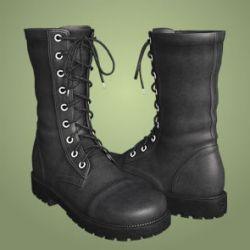 Dawn's Combat Boots