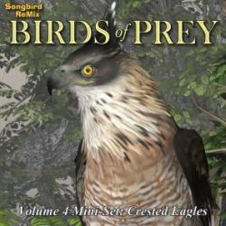 Songbird ReMix Birds of Prey Vol 4 Mini-Set- Crested Eagles