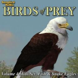 Songbird ReMix Birds of Prey Vol 4 Mini-Set- Fish and Snake Eagles