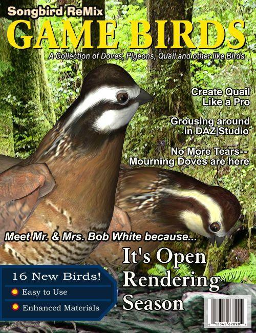 Songbird ReMix Gamebirds