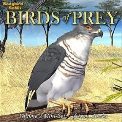 Songbird ReMix Birds of Prey Vol 2 Mini-Set-African Hawks