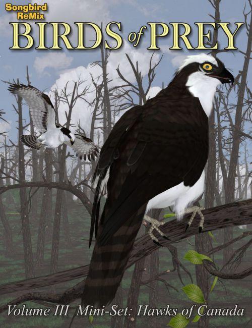 Songbird ReMix Birds of Prey Vol 3 Mini-Set - Hawks of Canada