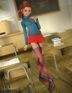 Manga Student for Genesis 2 Female(s)