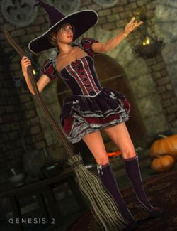 Storybook Outfit for Genesis 2 Female(s)
