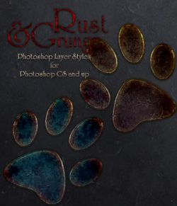 Rust & Grunge Photoshop Styles