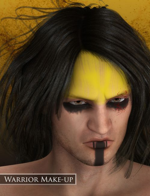 Warrior Make-up for Genesis 2 Male(s)