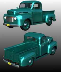 FORD F100 1950 (for POSER)