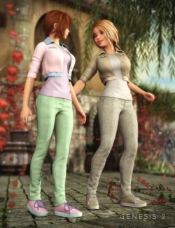 Ciao Bella Outfit Textures