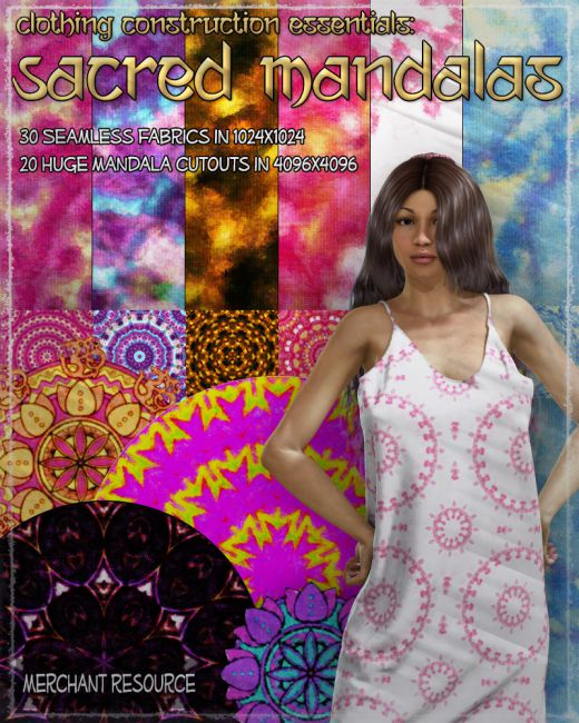 Clothing Construction Essentials: Sacred Mandalas
