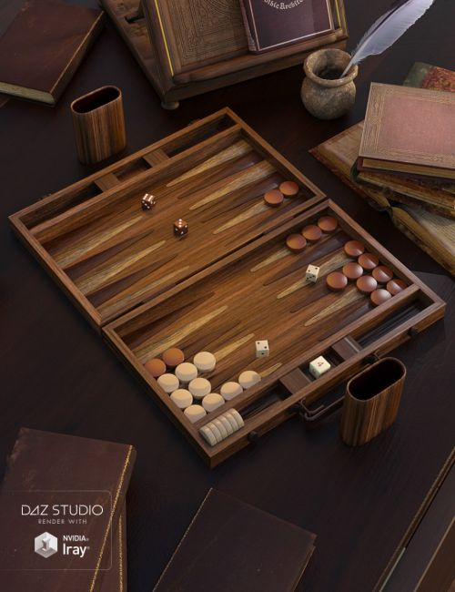 Ready to Play - Backgammon Set